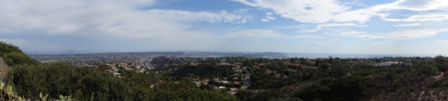 Panorama of San Diego, California/USA