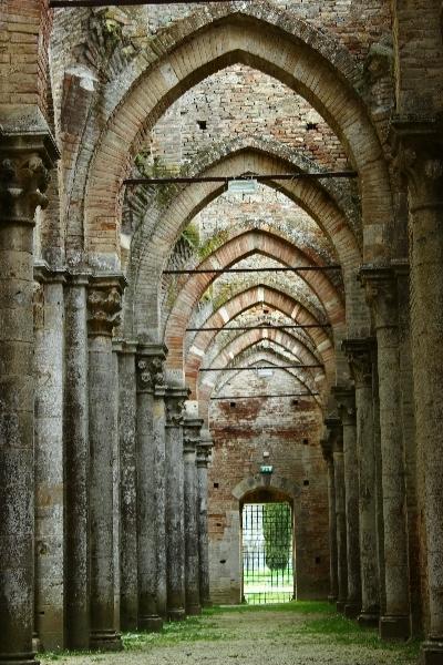 San Galgano in Tuscany, Italy