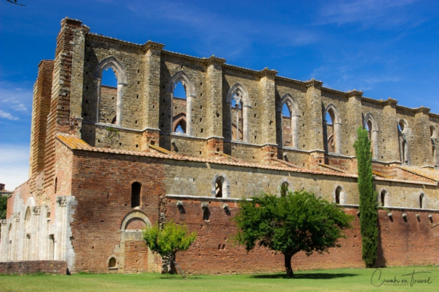 The Abbey of San Galgano, Tuscany/Italy