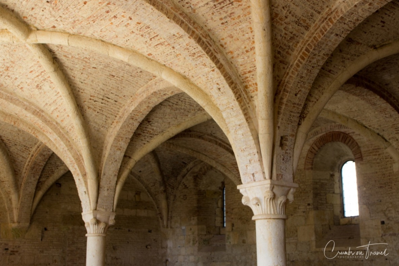 Inside the Abbey of San Galgano, Tuscany/Italy