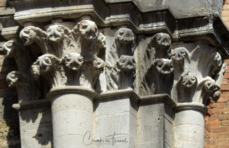 Capitals, The Abbey of San Galgano, Tuscany/Italy