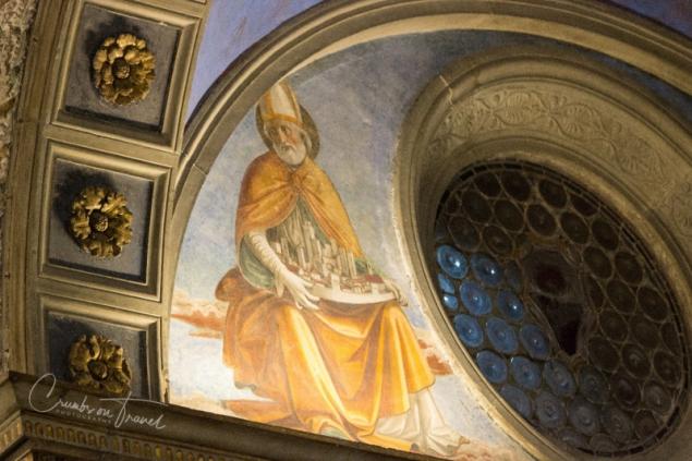 Inside the duomo of San Gimignano, Tuscany/ITaly
