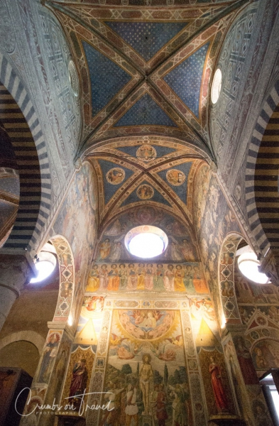 Inside the duomo of San Gimignano, Tuscany/ITaly