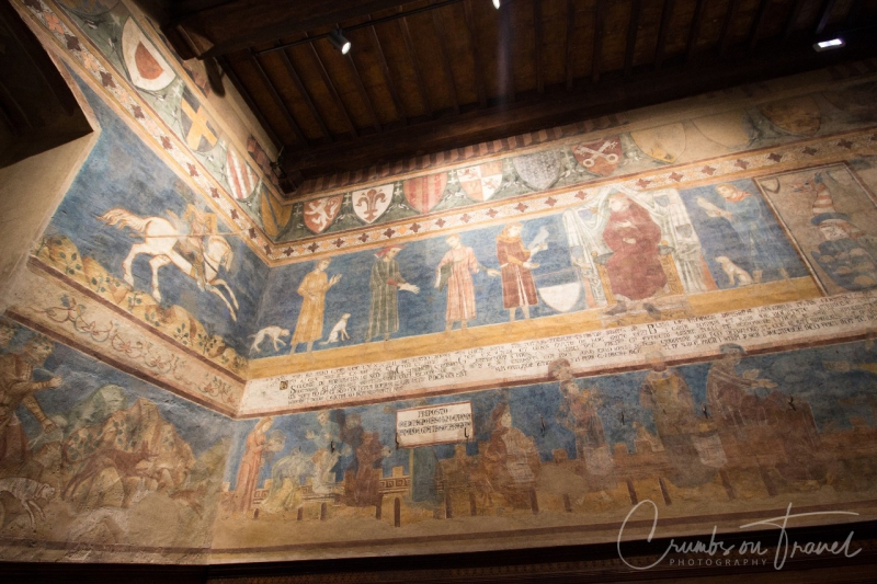In the Civic Museum of the Torre Grossa of San Gimignano, Tuscany/Italy