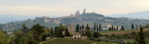 A view on San Gimignano, Tuscany