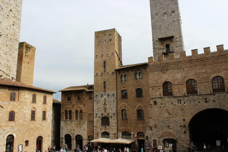 Piazza Duomo of San Gimignano, Tuscany