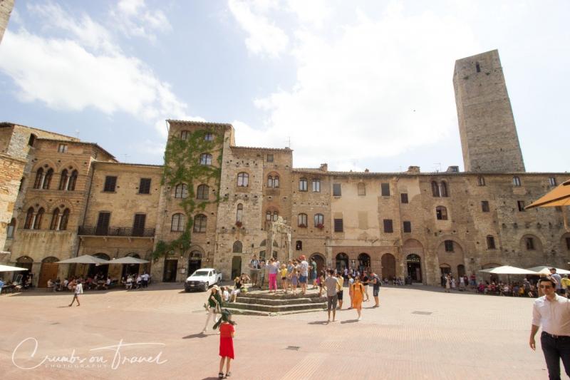 Impressions of San Gimignano in Tuscany/Italy