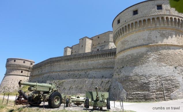 Castle of San Leo, Emilia-Romagna/Italy