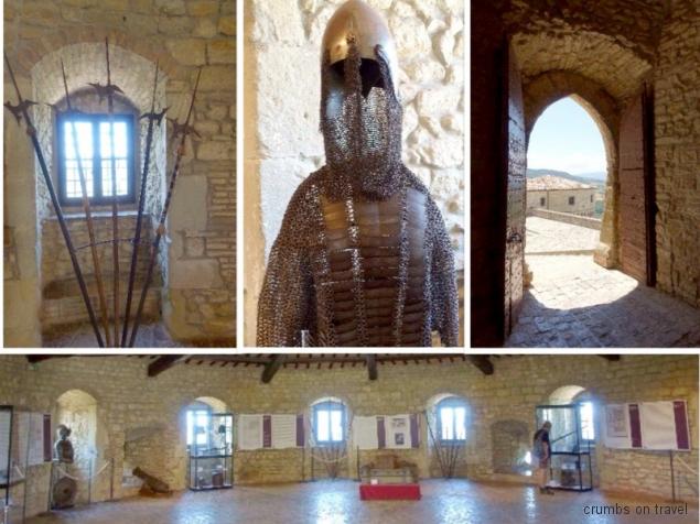 Inside the castle museum of San Leo, Emilia-Romagna/Italy