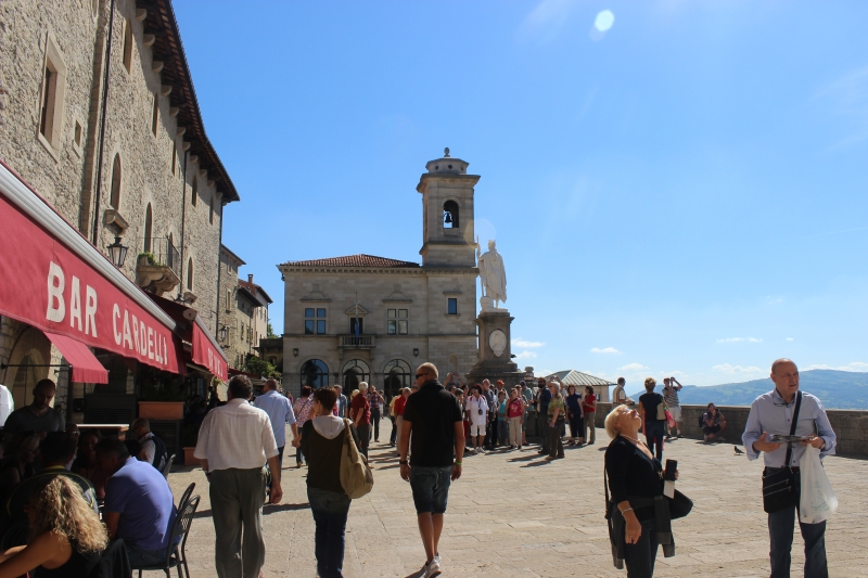 San Marino, main square