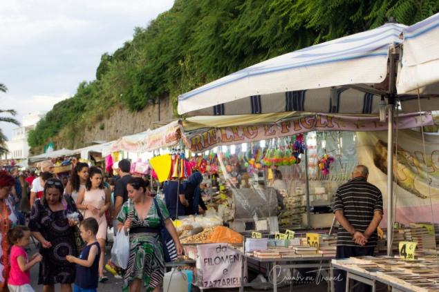 A walk at the San Vito Festival in Forio d'Ischia/NA