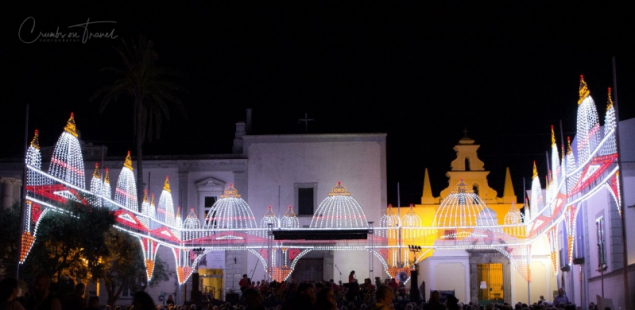 Lights at the San Vito Festival in Forio d'Ischia/NA