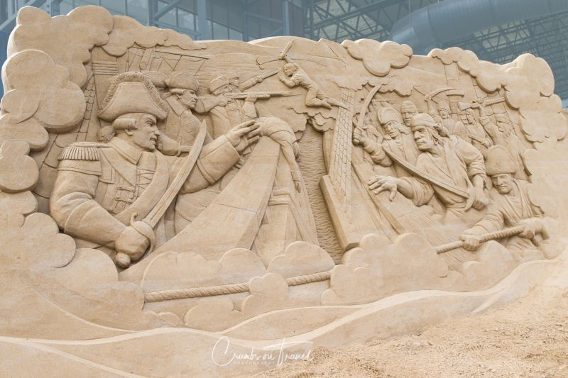 Sand Sculptures Travemünde 2019 - Pirates battle