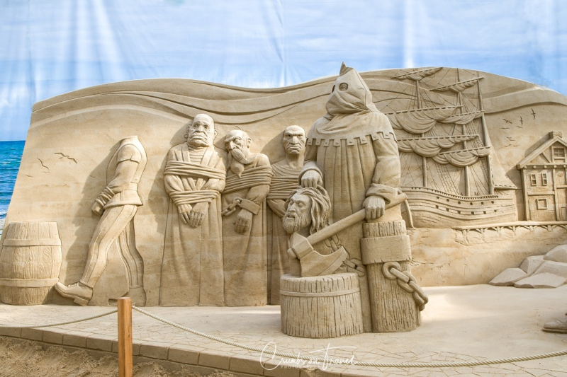 Sand Sculptures Travemünde 2019 - Störtebecker