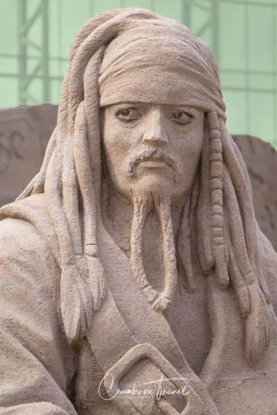 Sand Sculptures Travemünde 2019 - Captain Sparrow
