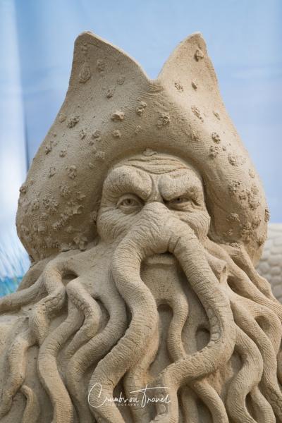 Sand Sculptures Travemünde 2019 - Pirates of the Caribbean