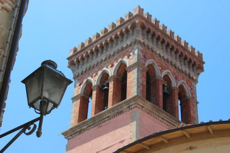 Bell tower in San Sepolcro, Emilia-Romagna/Italy