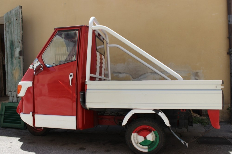 Italian car seen at San Sepolcro, Emilia-Romagna/Italy