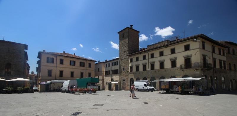 Piazza of San Sepolcro, Emilia-Romagna/Italy
