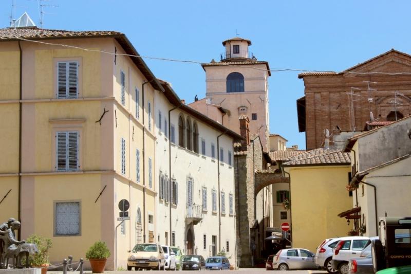 Streetview of San Sepolcro, Emilia-Romagna/Italy