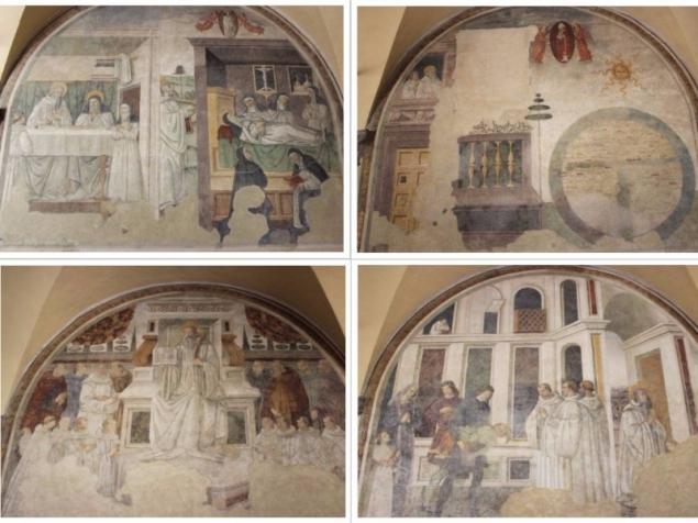 Paintings seen in San Sepolcro, Emilia-Romagna/Italy