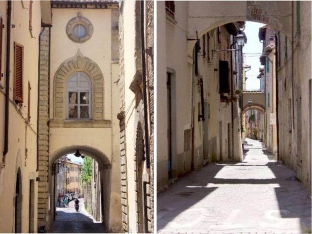 Streetviews in San Sepolcro, Emilia-Romagna/Italy