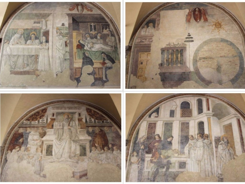 Paintings seen in San Sepolcro, Emilia-Romagna/Italy