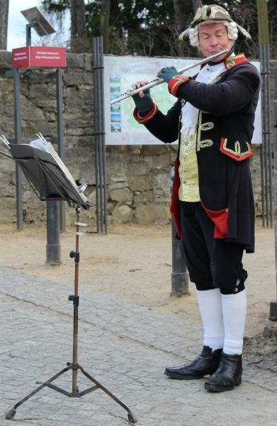 Musician, Sanssoucis, Potsdam, Germany