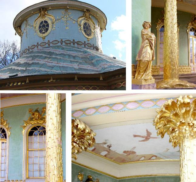 Teahouse, Sanssoucis, Potsdam, Germany