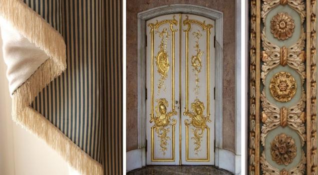 Room details, Sanssoucis, Potsdam