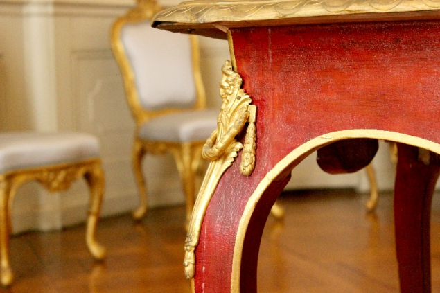 Table detail, Sanssoucis, Potsdam