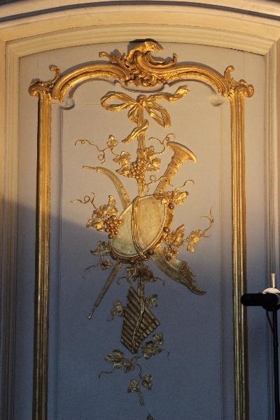 Door detail, Sanssoucis, Potsdam