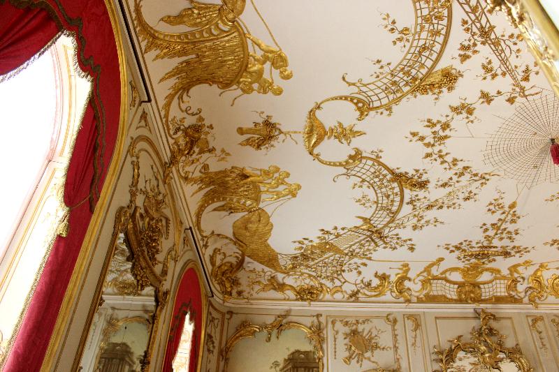 Ceiling, Sanssoucis, Potsdam
