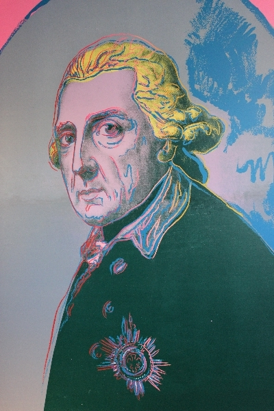 Frederick the Great, Sanssoucis, Potsdam