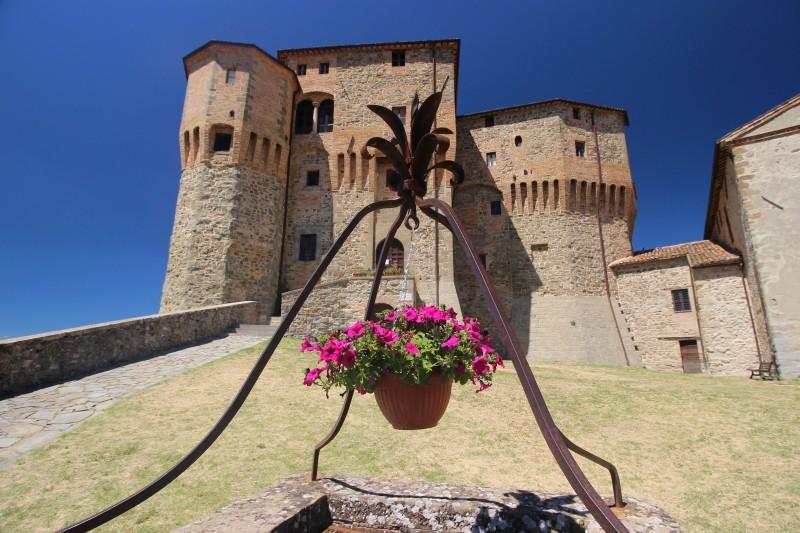 Rocca Fregoso Castle, Sant'Agata Feltria, Emiglia-Romagna/Italy