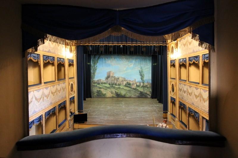 Theater Angelo Mariani, Sant'Agata Feltria, Emiglia-Romagna/Italy
