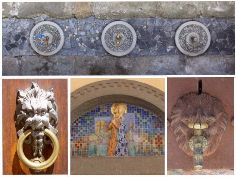 Water taps, Feltria, Emiglia-Romagna/Italy