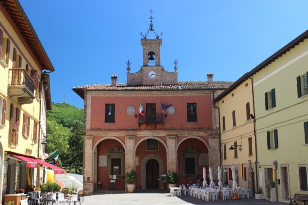 Piazza, Sant'Agata Feltria, Emiglia-Romagna/Italy