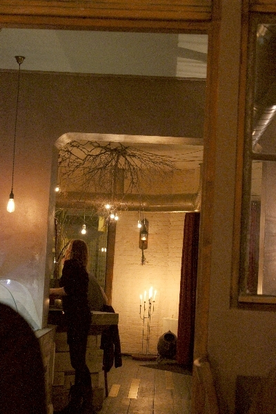 Inside the Sauvage Restaurant in Berlin