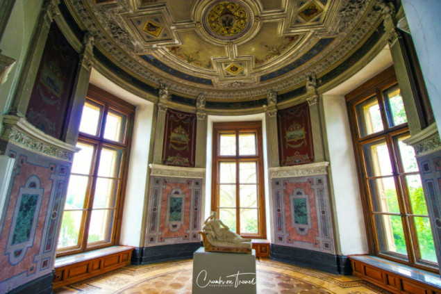Inside the Castle of Schwerin