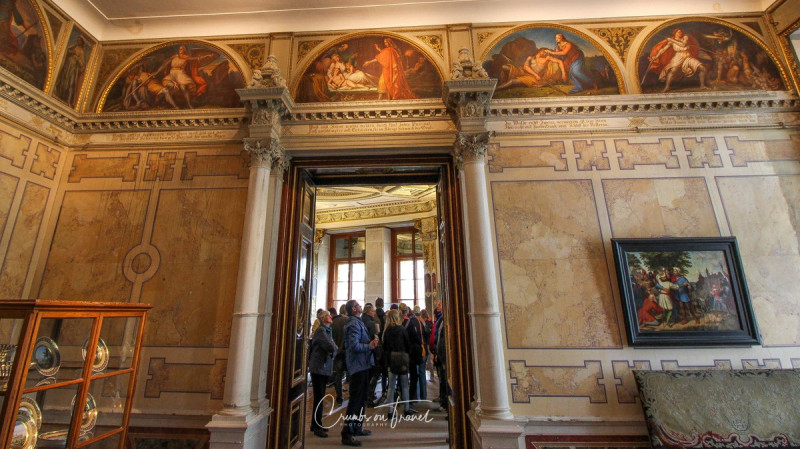 Inside the Castle of Schwerin