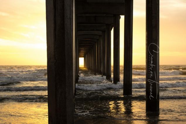 Scripps Pier San Diego, California/USA