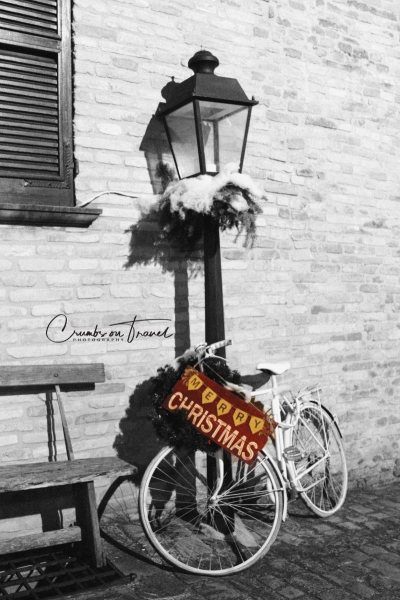 Bike, Xmas walk Senigallia, Le Marche/Italy