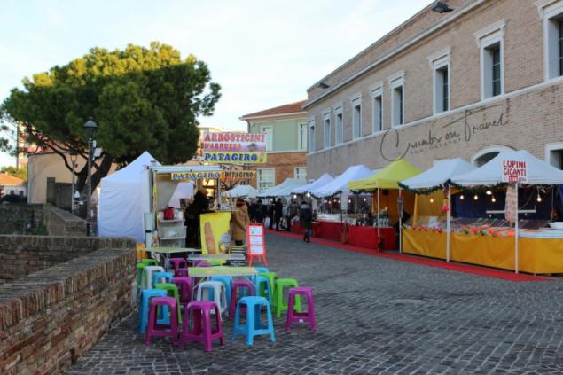 Xmas market Senigallia, Le Marche/Italy