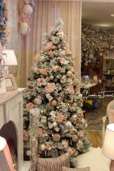 Xmas tree in a shop in Senigallia, Le Marche/Italy