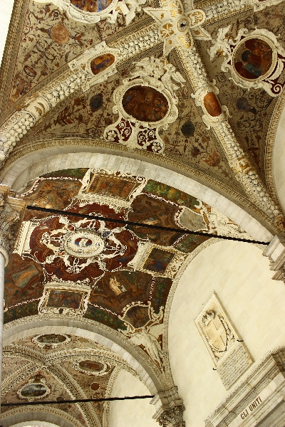Celing in Siena, Tuscany, Italy