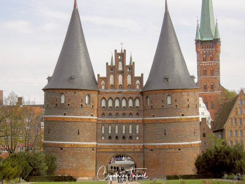 Sightseeing in Lübeck