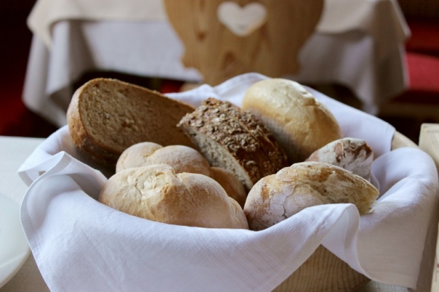 Different kinds of bread in South Tyrol/Italy