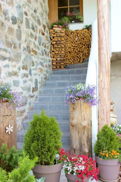 Typical entrance in South Tyrol/Italy