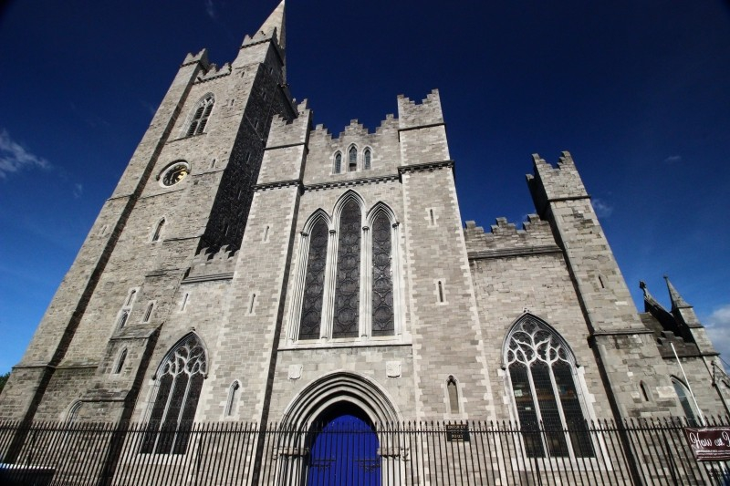 St. Patrick's Church in Dublin/Ireland